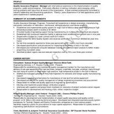 Cover Letter Sample For Quality Assurance Manager New Resume Sample ...