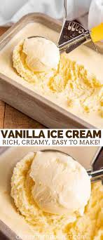 Since many commercial varieties are high in added sugar and saturated fat, savoring a frozen dessert can feel like a guilty experience rather reserved for special occasions. Vanilla Ice Cream Dinner Then Dessert