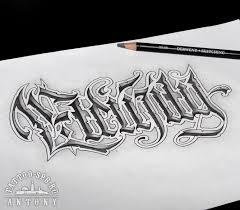 оригинальные тату надписи
