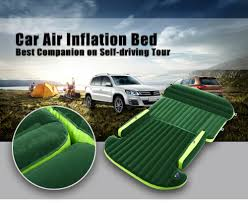 Backseat Inflatable Bed Universal Auto Back Seat Cover Car Air Inflation Mattress Bed