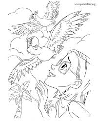 Small Picture Rio The Movie coloring pages for kids Free Printable Coloring