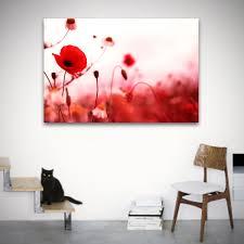 flower poppy field wall art on poppy wall art uk with flower poppy field wall art 0