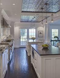 best lighting for kitchen ceiling. kitchen ceiling design above island pressed tin tiles in ceilingu2026 best lighting for