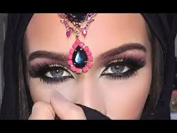 dramatic arab style eye makeup tutorial