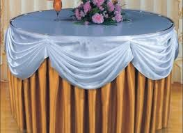 new style hotel table skirt designs table skirting