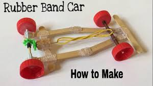 Rubber Band Car Designs How To Make A Rubber Band Car Very Fast And Powerful Tutorial