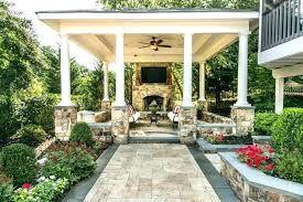 covered patio designs with fireplace wonderful covered covered patio with fireplace cool designs inspiration of