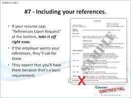 Should You Include References On Resume Hospinoiseworksco Do You Put