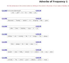 ENGLISH AT CEIP CAN RASPALLS: Adverbs of frequency in Present Simple