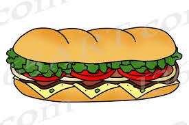 sandwich clipart. Fine Clipart Sub Sandwich Clipart With Sandwich Clipart W