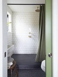 Mosaic Bathroom Floor Tile Small Bathroom With Black Hexagon Bathroom Floor Tile And Marble