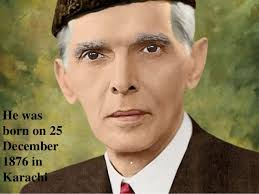 quaid e azam muhammad ali jinnah he was born on 25 1876 in karachi