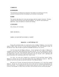 Examples Of Descriptive Essay About A Place Examples Writing Descriptive Essay Person Thesis Example Of Essays