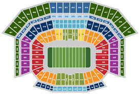 San Francisco 49ers Seating Chart 3d Nfl Stadium Seating Charts Stadiums Of Pro Football