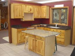 Kitchen Cabinets With No Doors Knotty Pine Kitchen Cabinets With Small Kitchen Island Table With