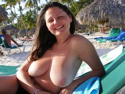 Amateur Mature Hairy Chubby Wife with Big Naturals Wearing.
