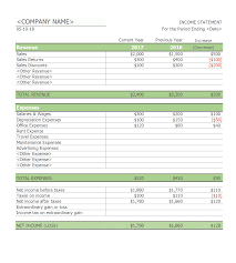 Restaurant Financial Statements Templates 41 Free Income Statement Templates Examples Template Lab