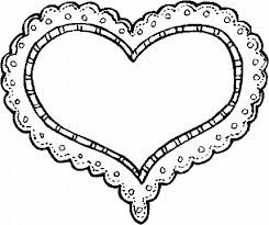 Small Picture valentines day heart coloring pages for kids printable free 9