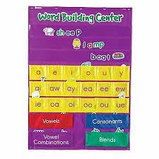 Learning Center Pocket Chart Learning Resources Word Building Center Pocket Chart