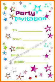 Print Out Birthday Invitations 100 free printable birthday invitation templates Receipt Templates 57