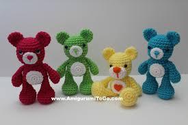 Crochet Bear Pattern Custom Crochet Teddy Bear Written Pattern And Video Amigurumi To Go