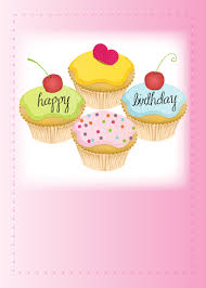 animated birthday cupcakes. Contemporary Cupcakes Pink Cupcakes With Sweet Birthday Wish In Animated C