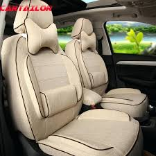 cloth car seat covers front rear cover seats for car seat cover linen cloth car cushion cloth car seat covers