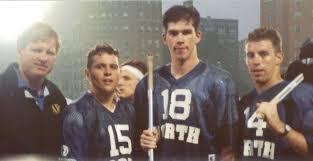 1992 North All-Stars Div 1. Coach Emmer, Chris Prentice, Chris Lepp, Ed  McGuire.   All star, Prentice, Lacrosse