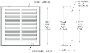 Filter Grill Sizing Chart Hvac Ducting Sizing Ducting Sizing Return Duct Sizing Chart