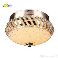2018 new modern k9 crystal ceiling lamp led k9 crystal ceiling lights balcony aisle lights corridor lights stainess steel fix ceiling lighting from