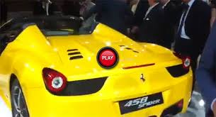 We analyze millions of used cars daily. Video Ferrari 458 Italia Spider Presentation In Italy Carscoops