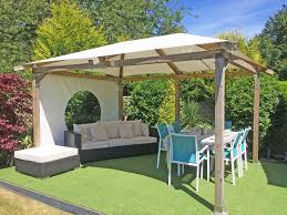 luxury garden gazebo white pavilion