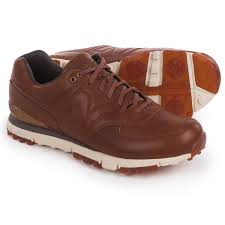 new balance shoes for men brown. new balance 574 lx golf shoes - waterproof, leather (for men) in for men brown
