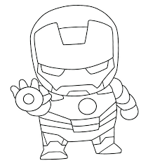 Yes, we've got you free printable iron man coloring pages. Cute Chibi Iron Man Coloring Page Free Printable Coloring Pages For Kids