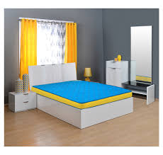 Nilkamal Bedroom Furniture Buy Coolbond 5 Coir Mattress Home By Nilkamal Blue 72x36x5