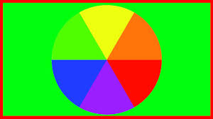 Orange Blue Green The Colour Wheel Blue Red Yellow Green Purple And Orange Primary And Secondary Colours