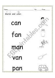 See more ideas about vowel worksheets, phonics, vowel. Phonics An Short Vowel Sound 2 Esl Worksheet By Nutcharat