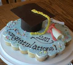 Graduation Cupcake Cake Michi Flickr