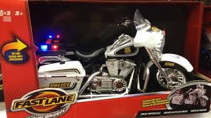 Fast Lane Light And Sound Police Motorcycle Fast Lane Motorcycle Toy
