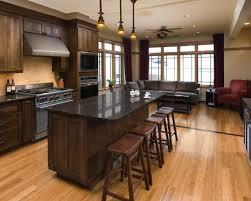 dark wood floor kitchen. Outstanding Wood Floors In Kitchen Hardwood Dark Flooring And With Pertaining To Design 18 Floor