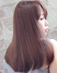 クリーミィピンクベージュtyー86 ヘアカタログ髪型ヘア