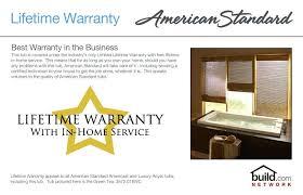 american standard americast tubs standard rhapsody blue soaking bathtub with left hand drain lifetime warranty american