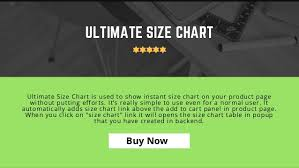 Pop Up Size Chart Shopify Best Size Chart App For Shopify Fashion Stores