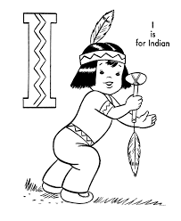 Small Picture Cartoon Indian Coloring Pages Coloring Pages