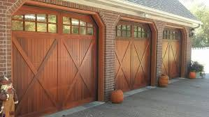 custom built cedar overlay doors
