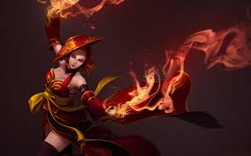 photo collection dota 2 wallpaper lina