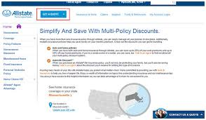 Allstate Insurance Quote Online Friendsforphelps Custom Allstate Insurance Quote