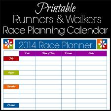Printable Running Calendar Printable Running Calendar Calendar