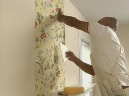 use a wallpaper sweep and not a brush