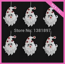 Get Quotations  5pcs 16cm Christmas decoration white styrofoam christmas  santa decorative pattern christmas products Free shipping! P00649